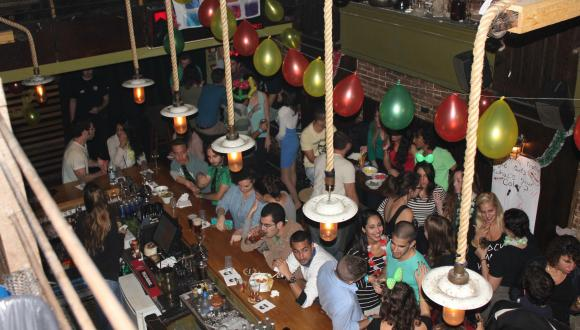 Opening year party 2015, organized by the Buddy System; The Rubi's bar in Tel Aviv
